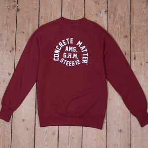 GHM-Steeg Sweater Burgundy