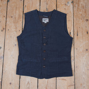 1905 Hauler Vest Steel Blue Denim