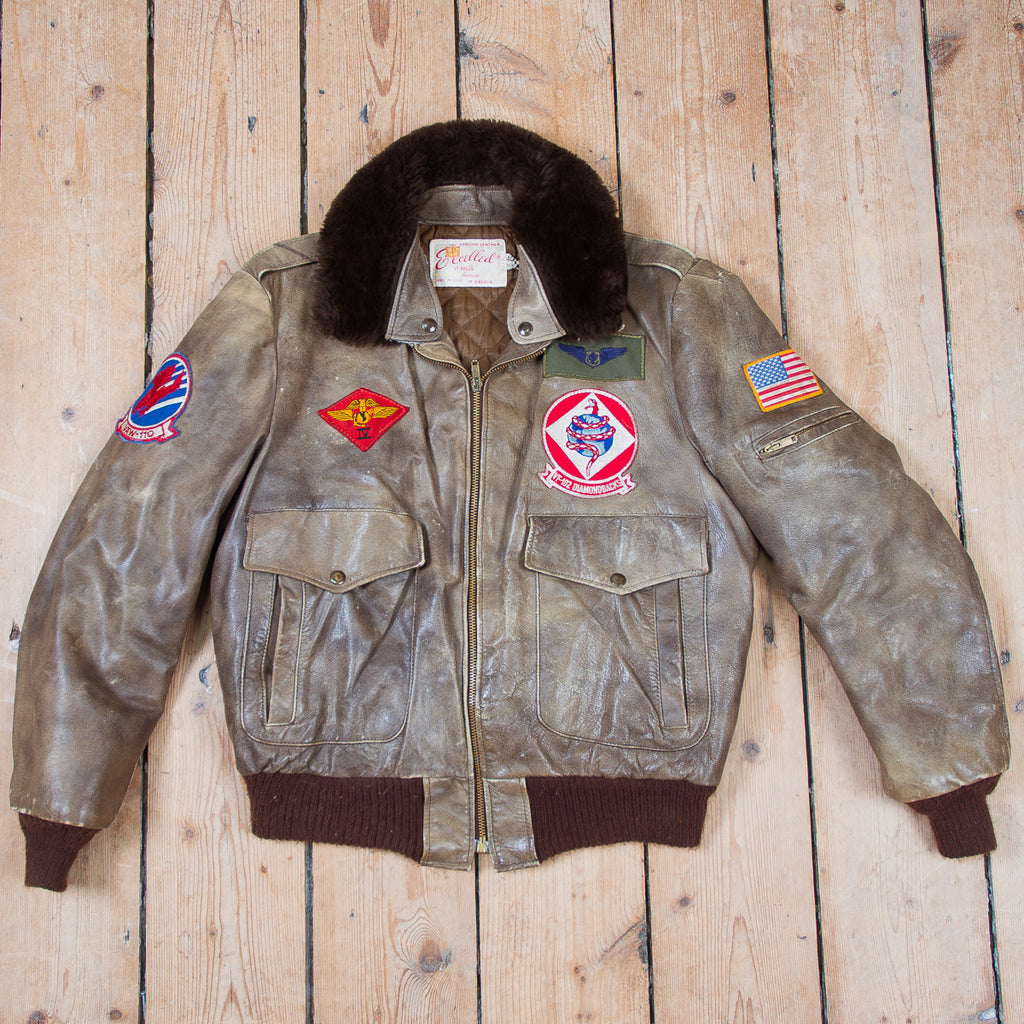 G1 Flight Leather Jacket