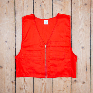Red Hunting Vest