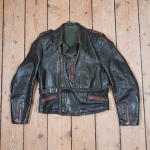 Leather Motorcycle Jacket No. 2