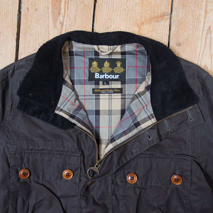 Barbour Wax Coat Black