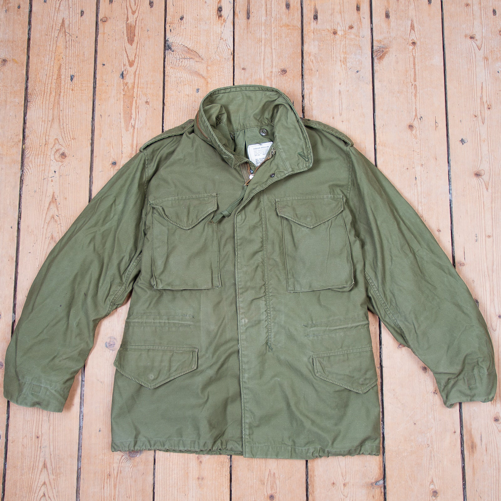 1b3f395ef38 M-65 Field Jacket by Alpha Industries. Curated Vintage Collection