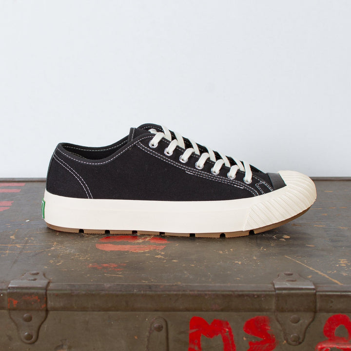 Grounder Lo Canvas Black