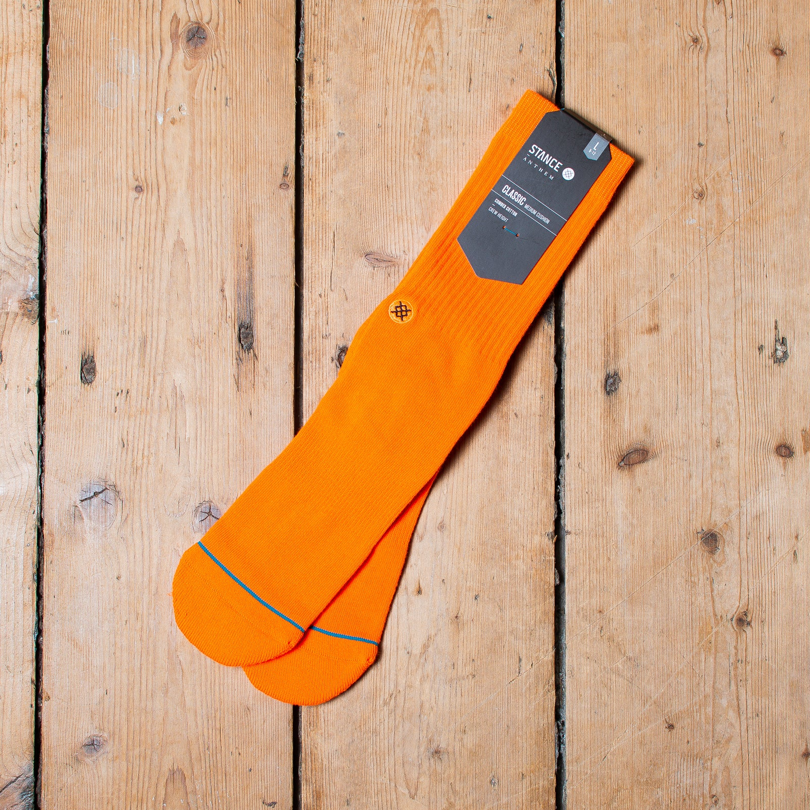 Stance Icon Anthem Florescent Orange
