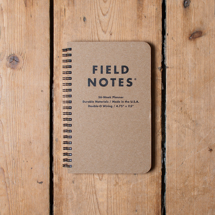 Field Notes Weekplanner
