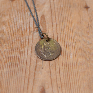 Peepshow Token Necklace