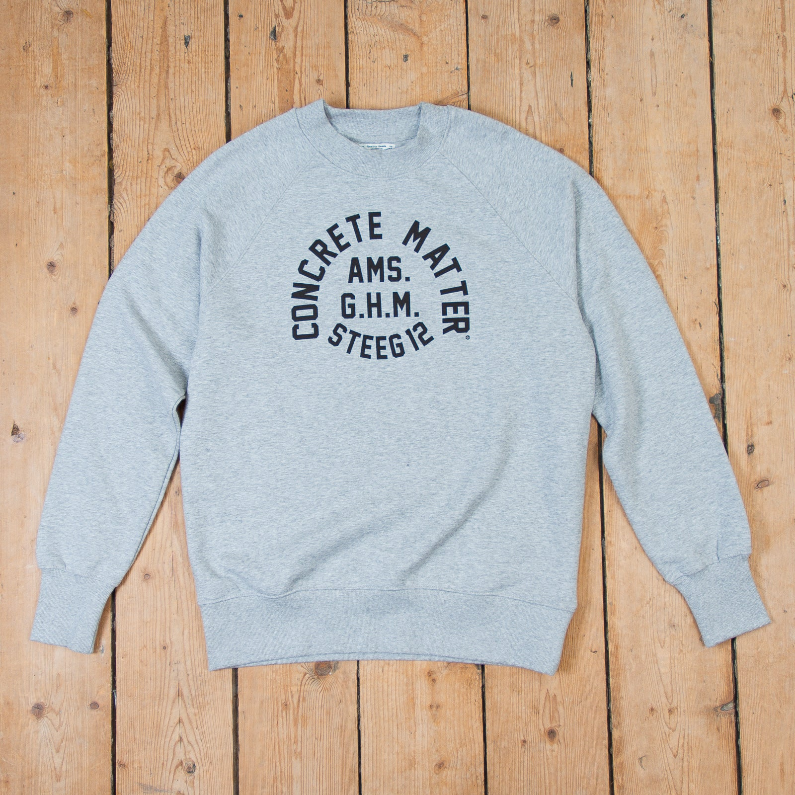 GHM-Steeg Sweater Grey