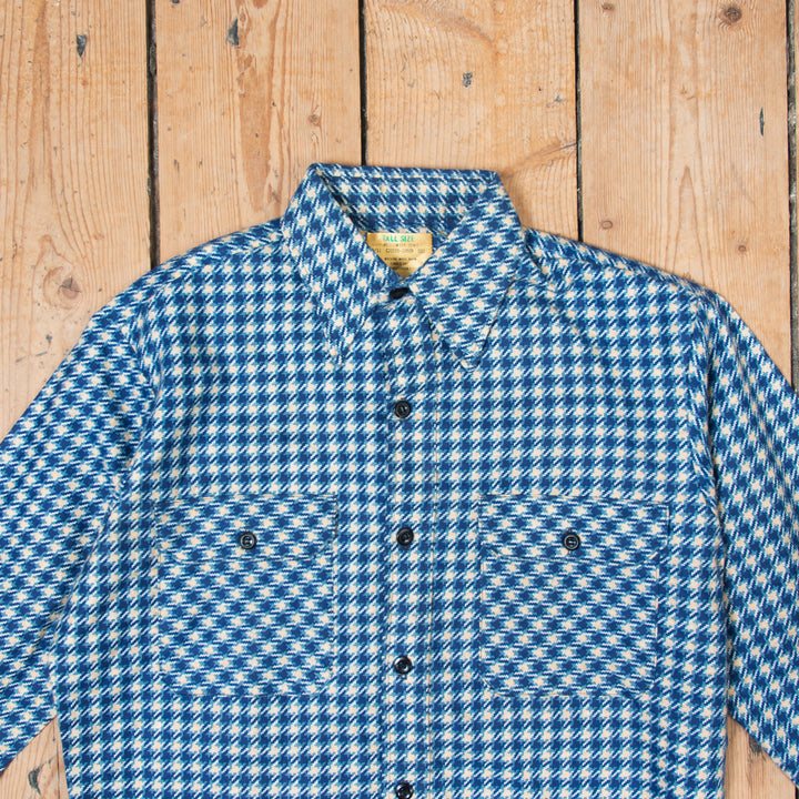 Sears Checkered Shirt Blue