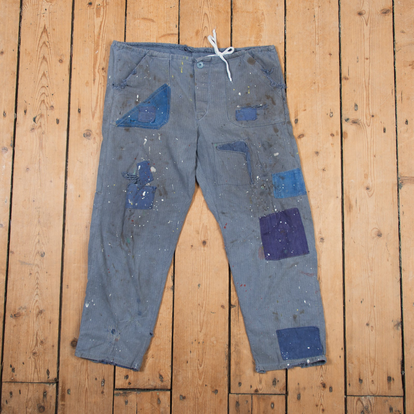 Patched H.B.T. Work Pant No. 2