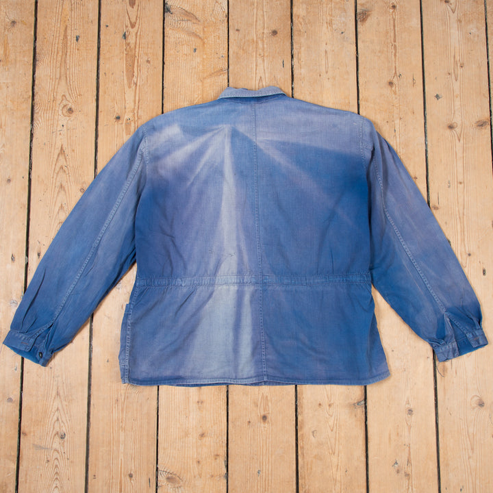 Faded Blue Workers Jacket No.2