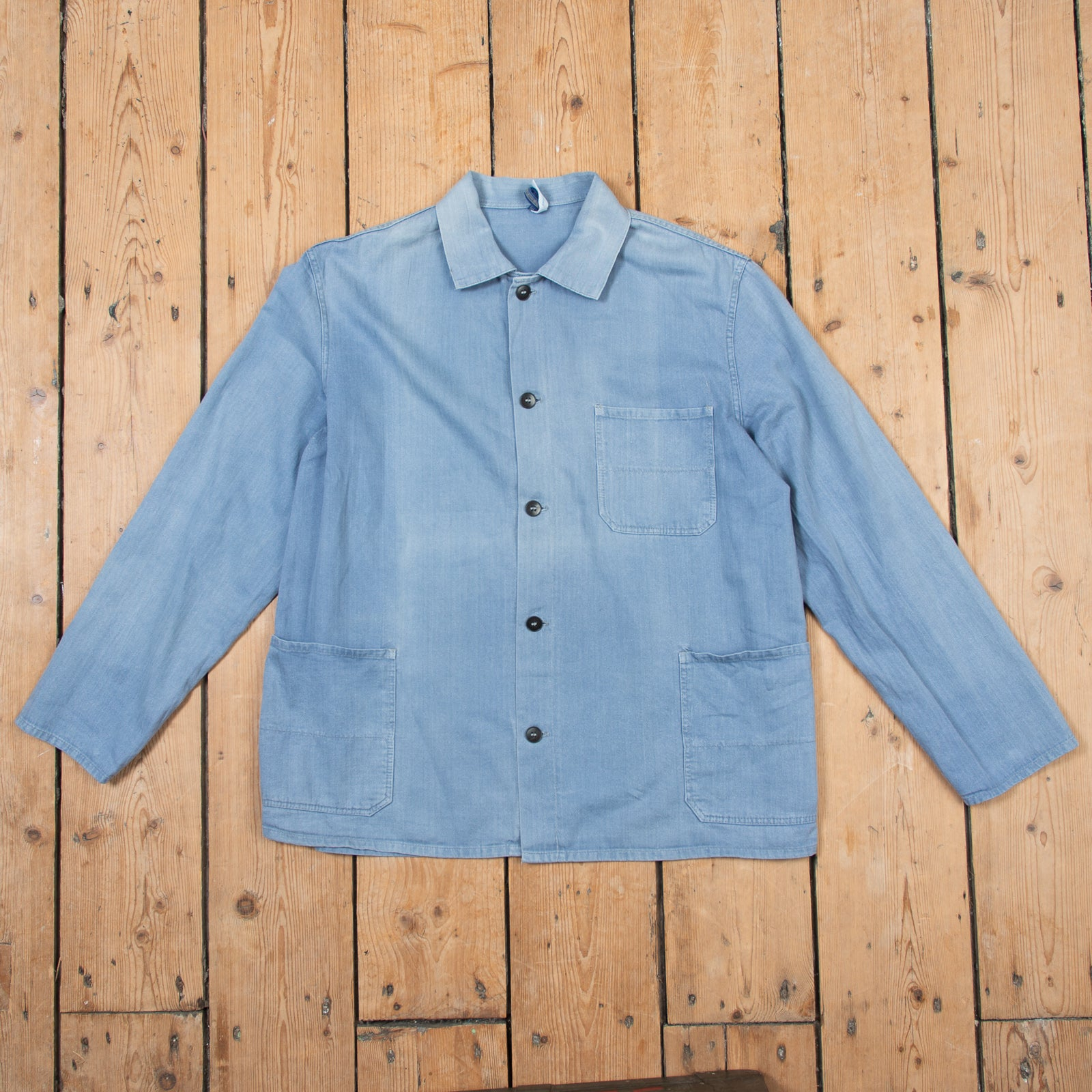 Faded Bleu Workers Jacket No. 3