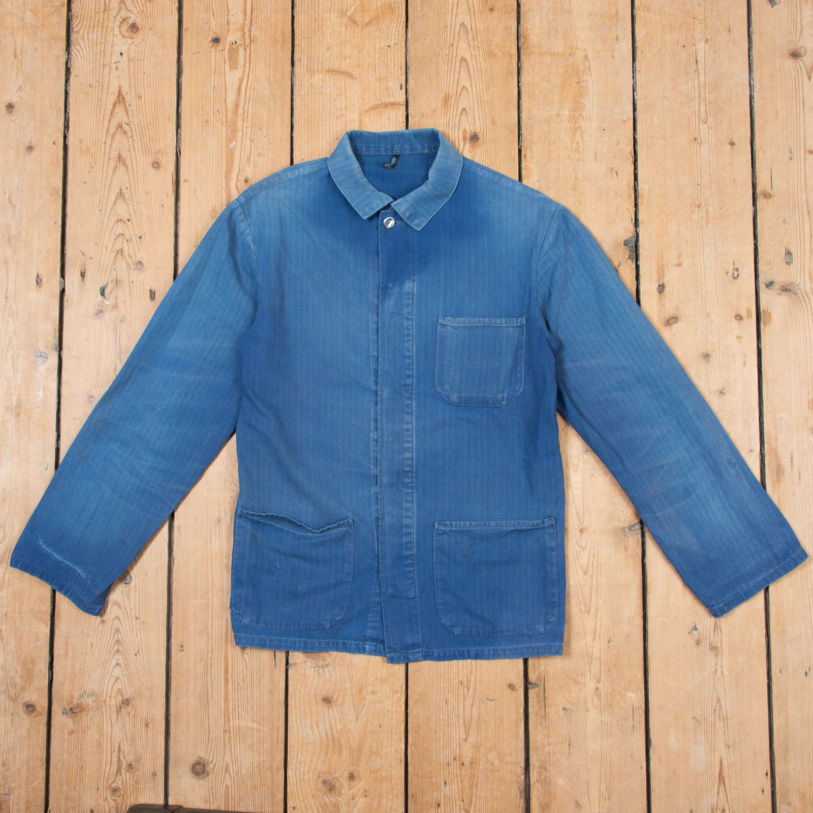 Faded Blue Workers Jacket No. 5