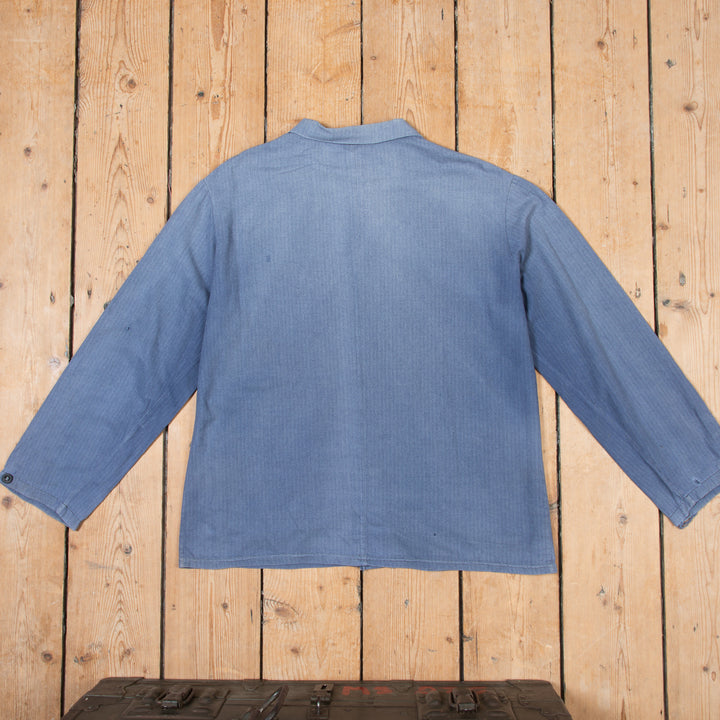 Faded Blue Workers Jacket No. 6