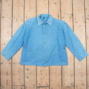 Faded Blue Workers Jacket No. 7