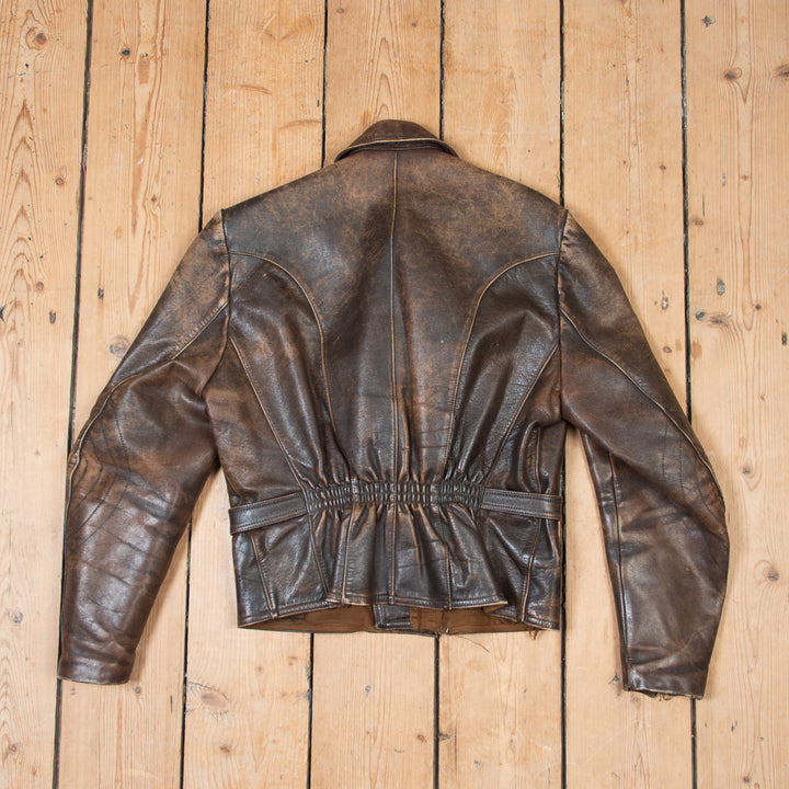 Haelson Leather Motorcycle Jacket