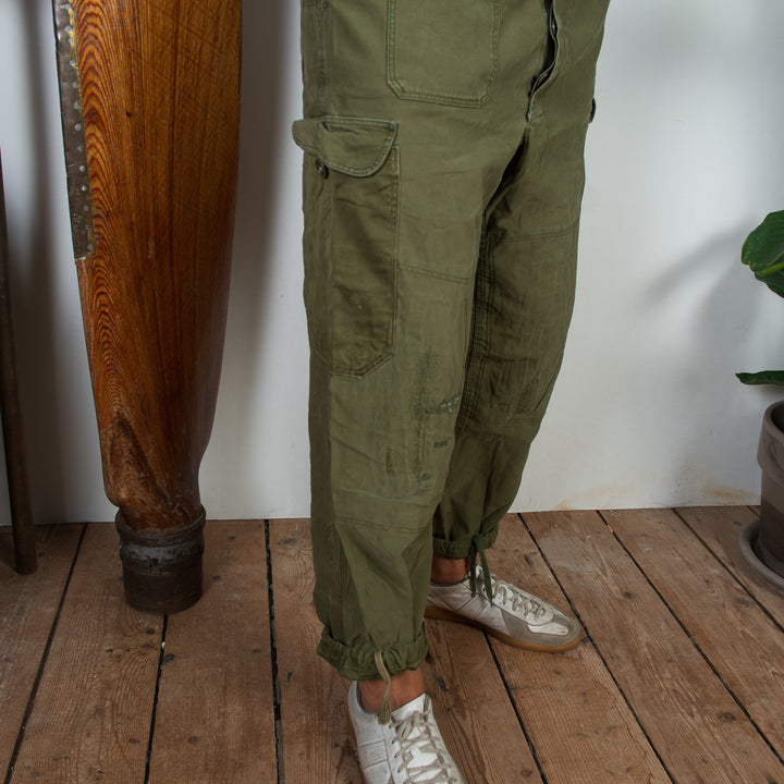 Patched Danish Cargo Pant