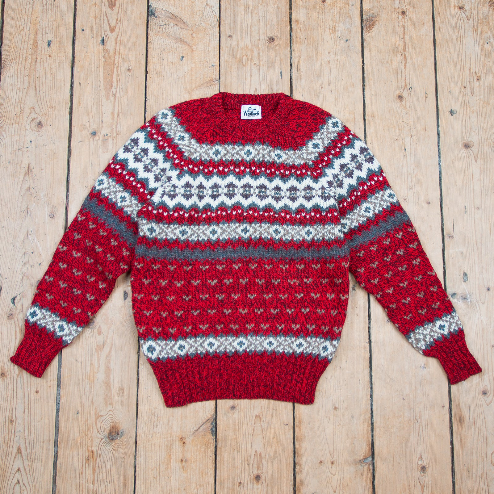 Woolrich Knitted Wool Sweater
