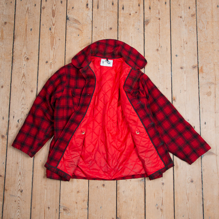 Woolrich Red and Black Checkered Mackinaw