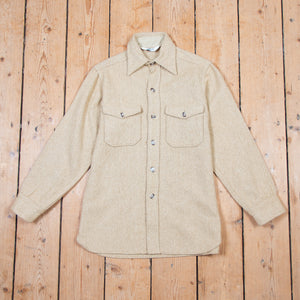 Woolrich Oatmeal Wool Shirt