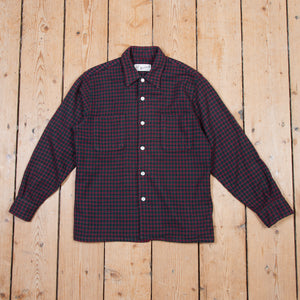 Woolrich Dark Wool Shirt