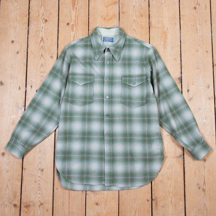 Pendleton Grey Green Check Shirt