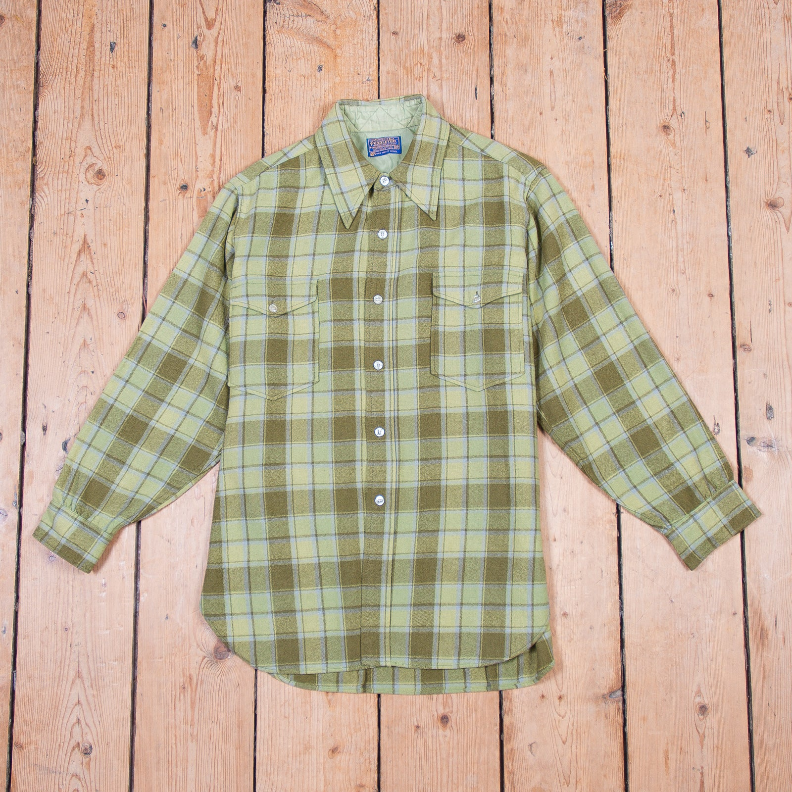 Pendleton Green Check Shirt