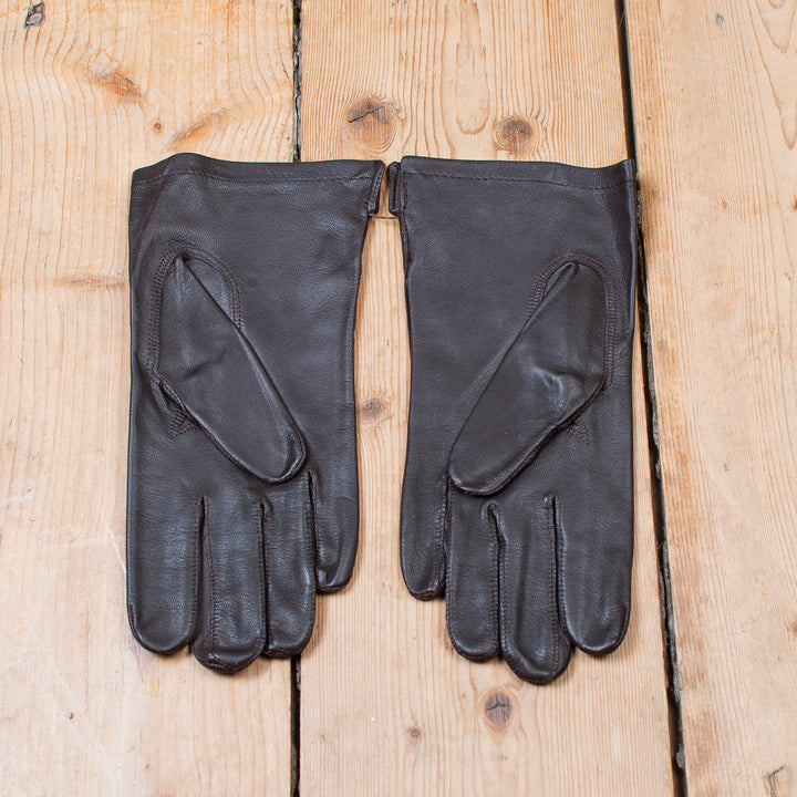 Belgian Officer's Gloves Dark Brown