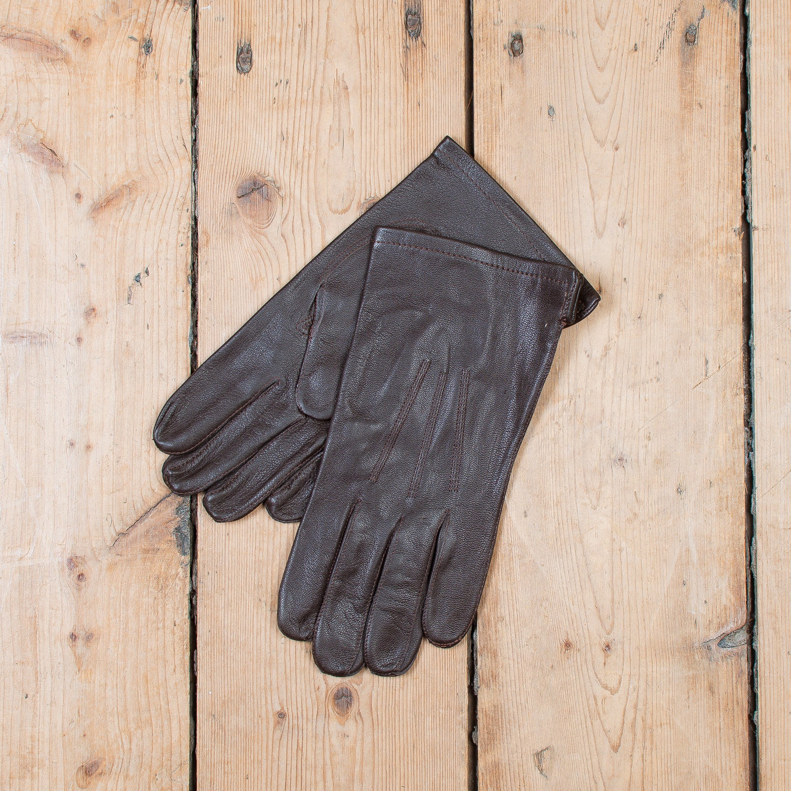 Belgian Officer's Gloves Brown