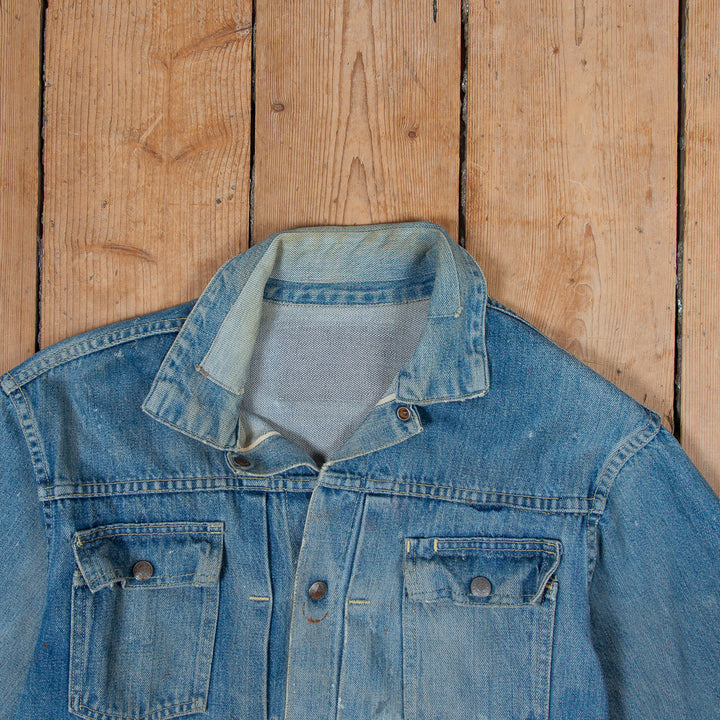 JCP Co. Faded Denim Jacket