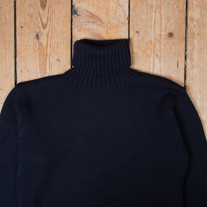 1923 Turtle Neck Dark Navy
