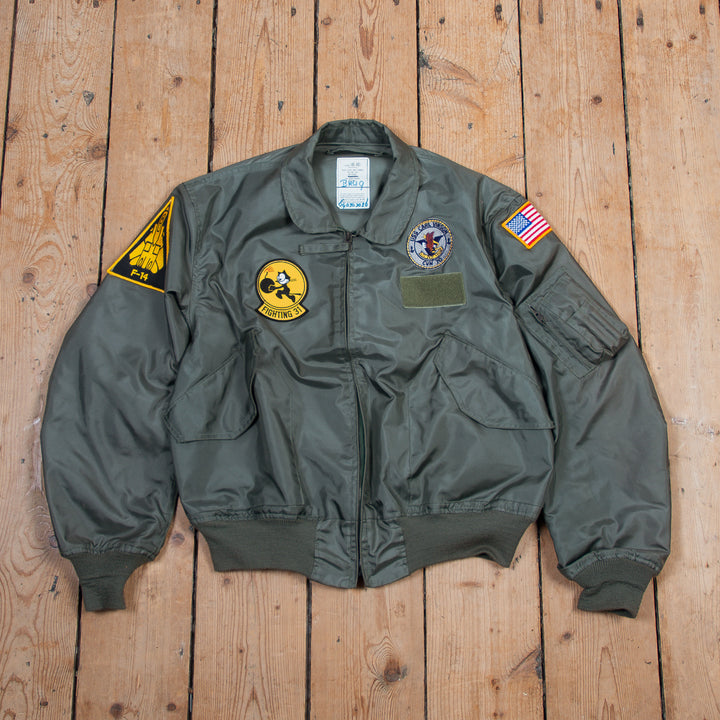 Patched Nomex Flight Jacket