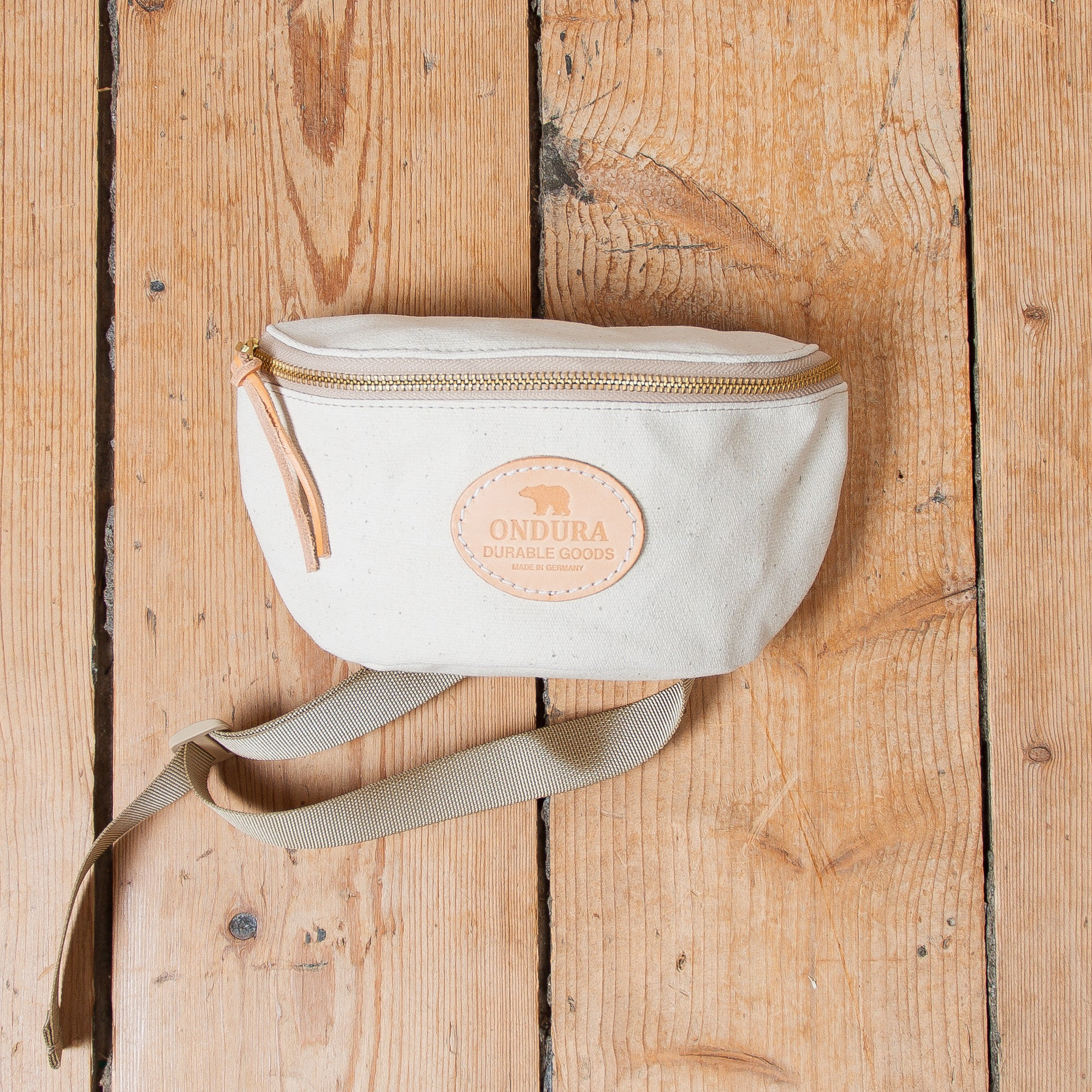 Canvas Hip Bag Natur