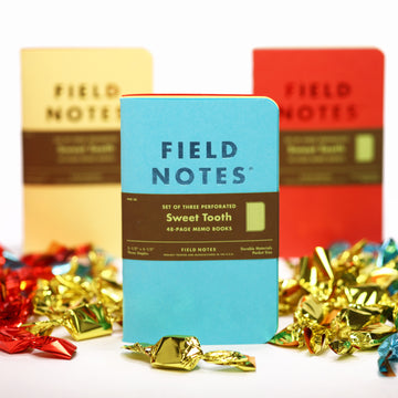 Field Notes Sweet Tooth (3-Pack)