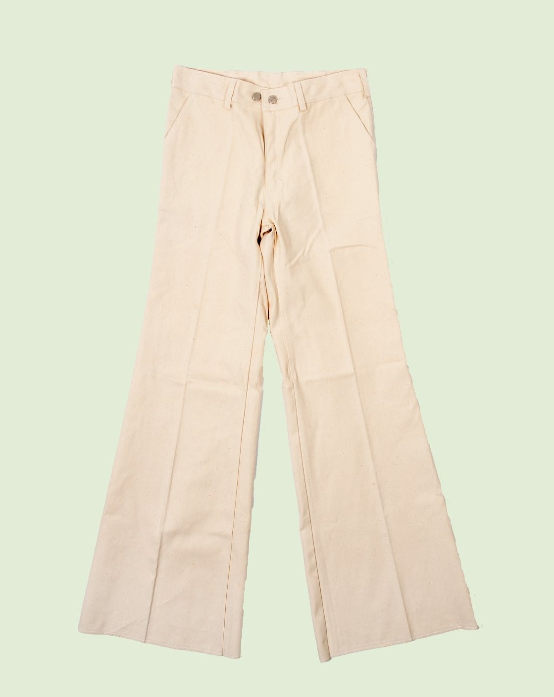 Cotton Flare Pants N.O.S.