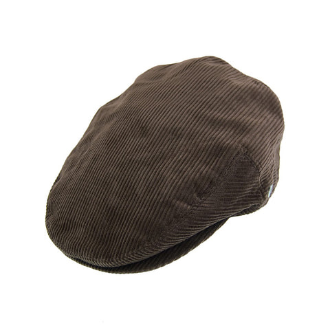Corduroy Flat Cap Brown