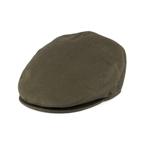 Cotton Flat Cap Green