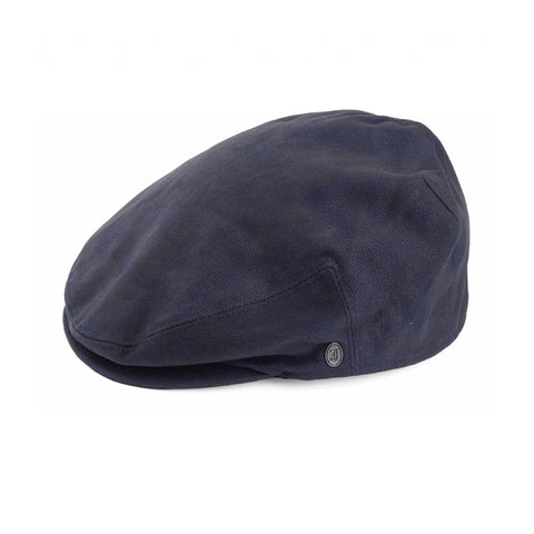 Cotton Flat Cap Blue