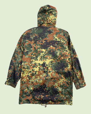 German Flecktarn Parka (L)