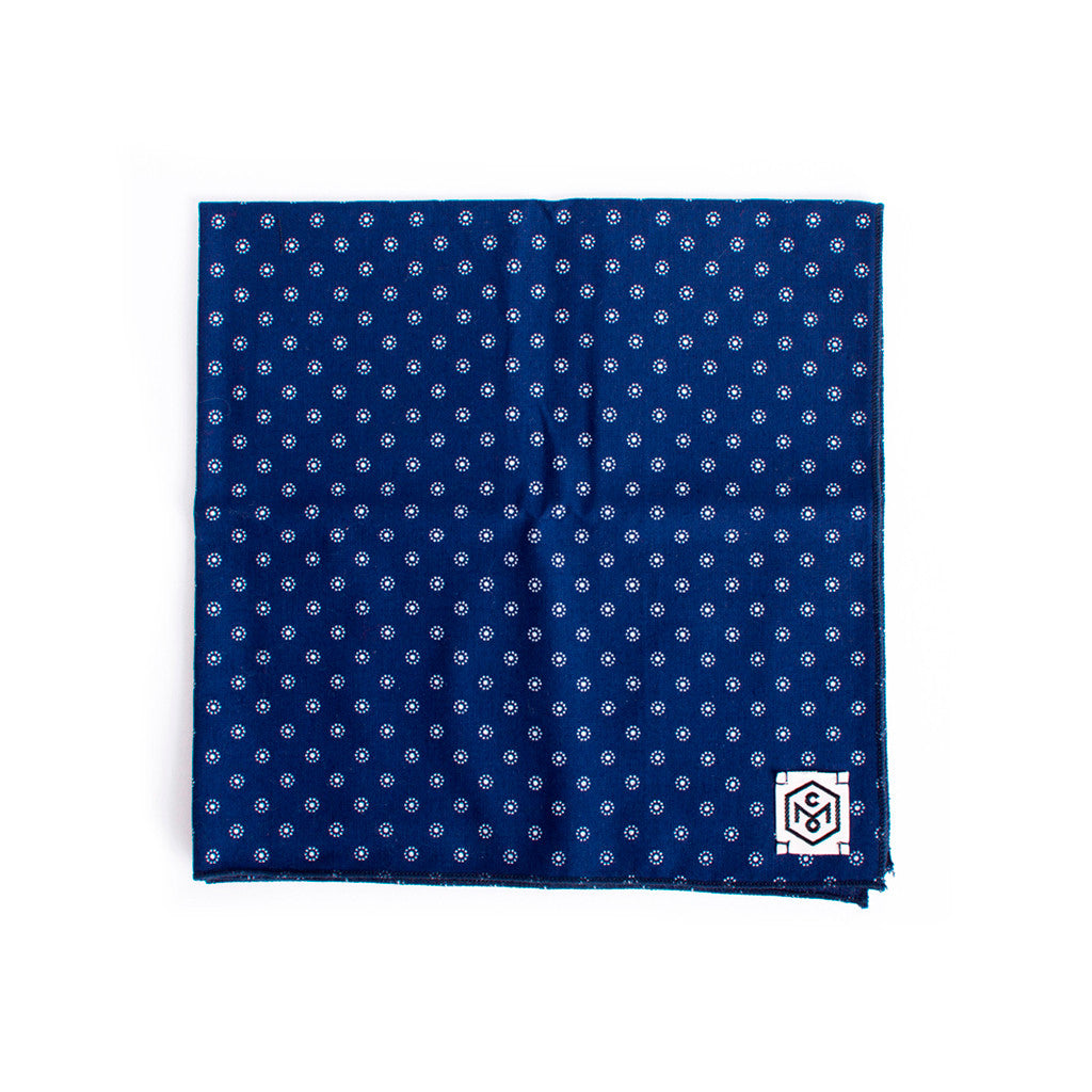 Handkerchief White Dots