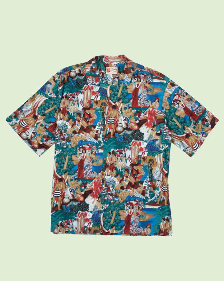 Hawaii Shirt Hilo Hatti People (XL)