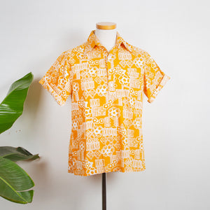 Keone Yellow Hawaii Shirt