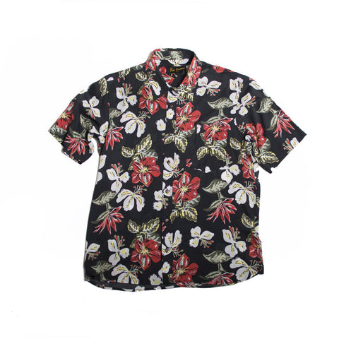 1937 Roamer Shirt Hawaii Flowers