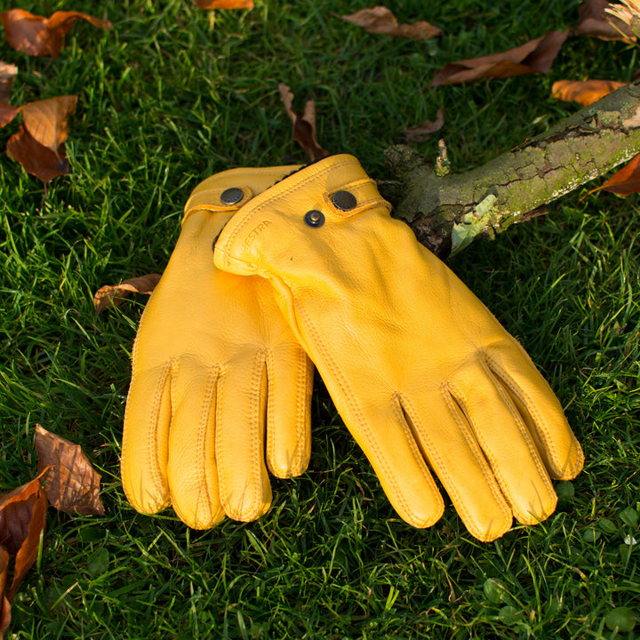 Hestra Utsjö Yellow Gloves