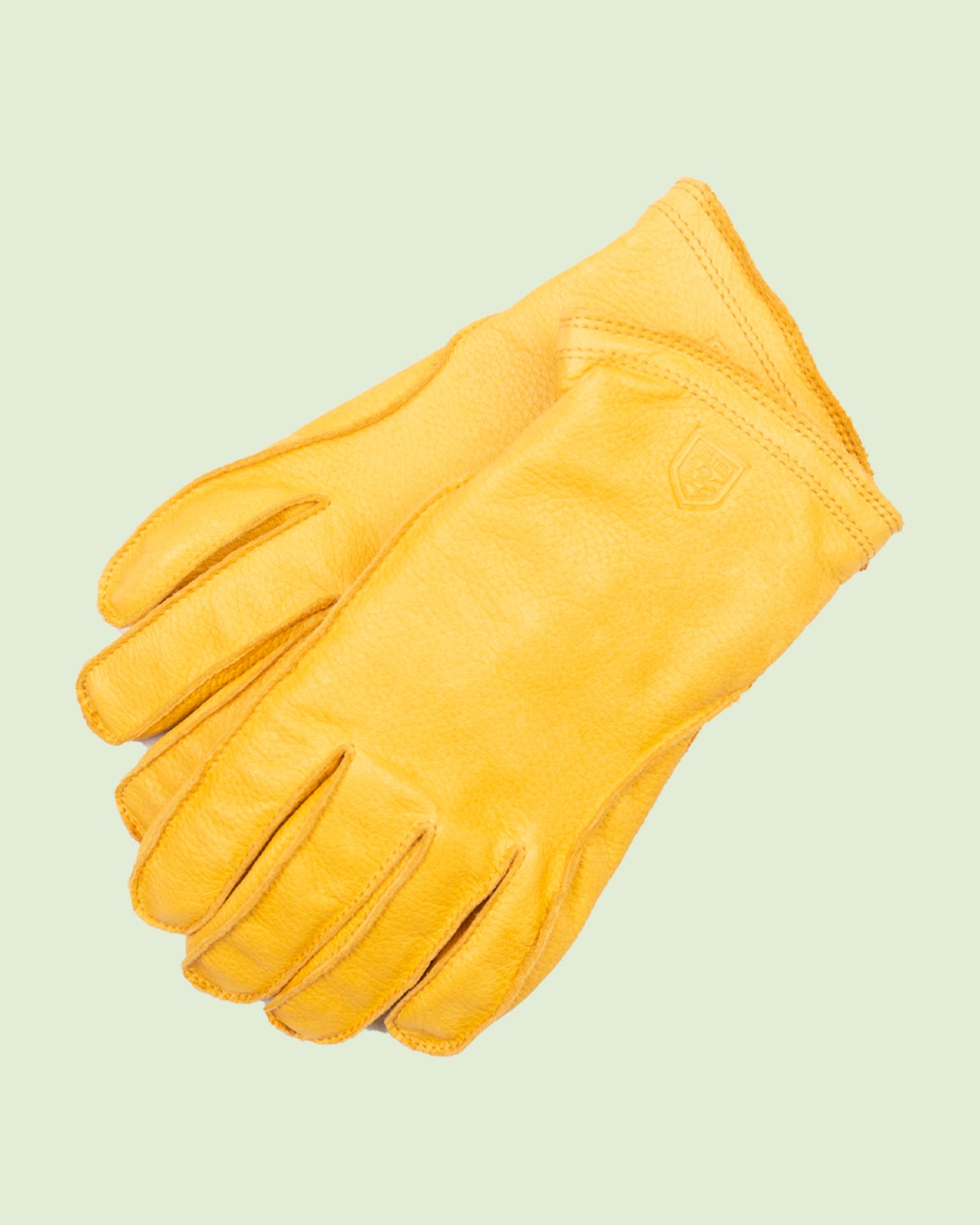 Hestra Frode Yellow Glove