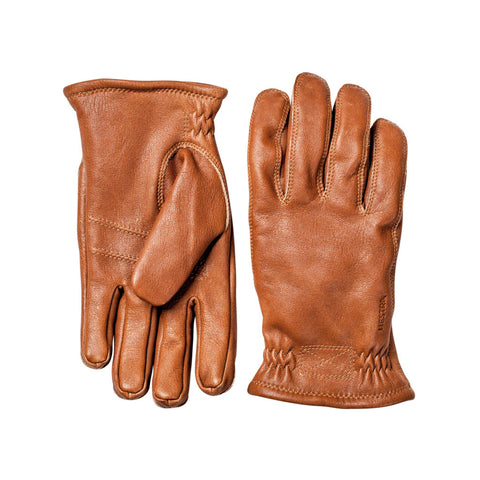 Hestra Sarna Elk Leather Glove Chestnut