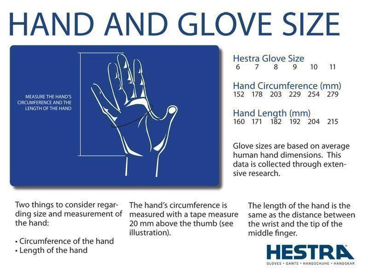 Hestra Sarna Black Gloves