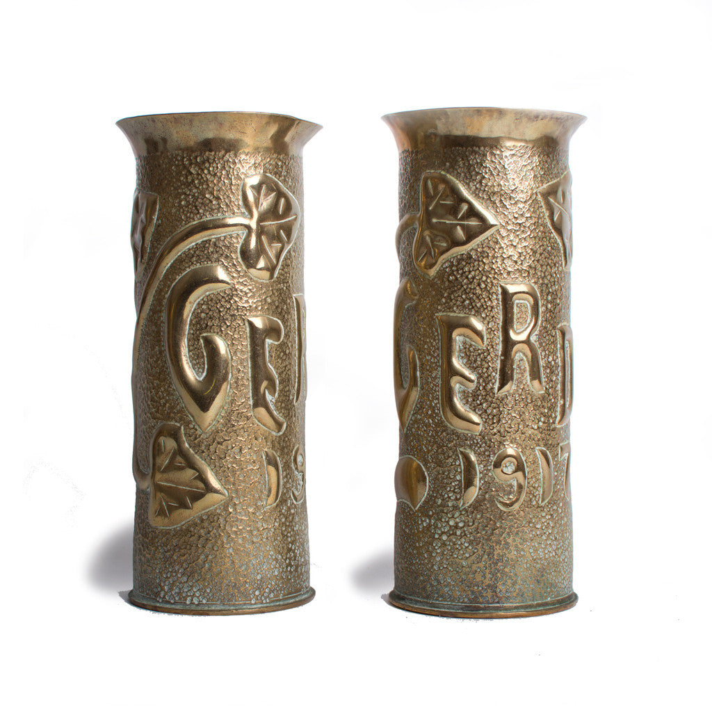 Verdun Trench Art hulzen