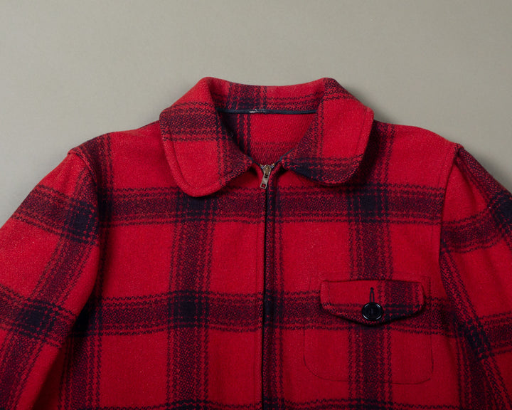 Hunting Jacket Red Wool