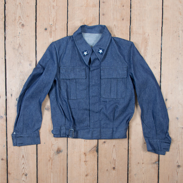 Italian Navy Denim Jacket